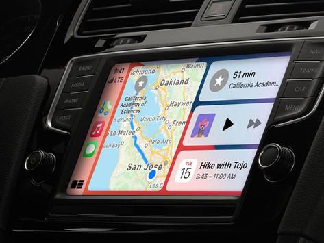 CarPlay poderá interagir com ar-condicionado, assentos, rádio, painel digital e muito mais