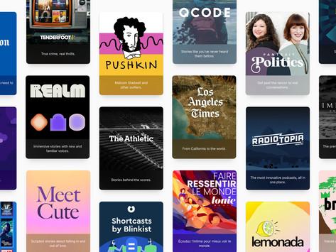Apple anuncia assinaturas e grandes atualizações no app Apple Podcasts