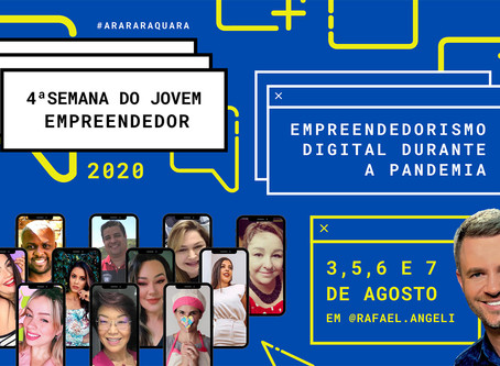 'Empreendedorismo digital em tempos de pandemia' - 4ª Semana do Jovem Empreendedor