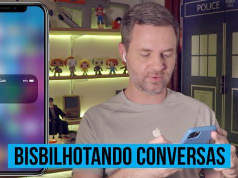 Vídeo: como bisbilhotar uma conversa com iPhone (ou iPad) e AirPods de forma 'oficial'
