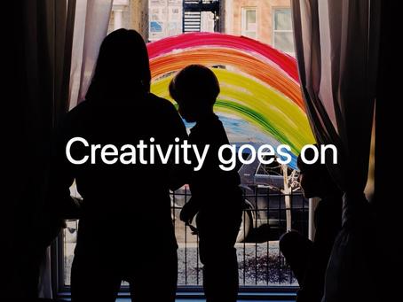 Apple compartilha vídeo 'A criatividade continua', em meio ao coronavírus