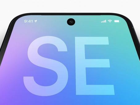"""iPhone SE terá tela de 4,7"""" em 2022 e tela inteira de 6,1"""" com hole-punch em 2023"""