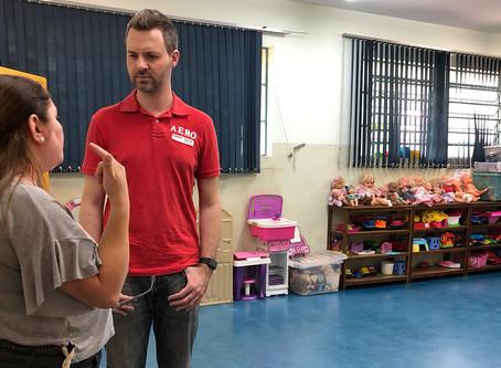 Vereador encontra problemas no CER 'Vila Vicentina' durante visita de fiscalização