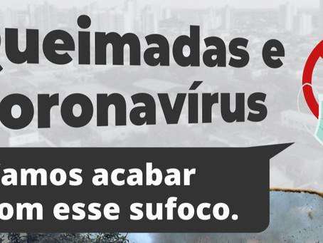 Novos canais de denúncias para queimadas em Araraquara