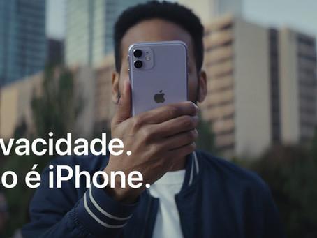 Apple divulga comercial humorístico com foco na privacidade do iPhone
