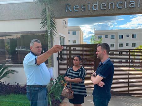 Moradores do Residencial Áster levantam problemas de infraestrutura e serviço público