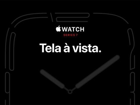 Apple Watch Series 7 entra em pré-venda em 8/10 e chega às lojas dia 15/10 em mais de 50 países