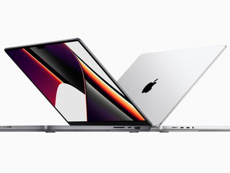 Apple lança novo MacBook Pro com notch, portas adicionais, tela ProMotion, novos chips e muito mais