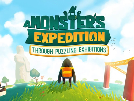 Novo game de quebra-cabeça 'A Monster's Expedition' chega ao Apple Arcade