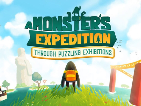 Novo game de quebra-cabeça 'A Monster's Expedition' chega ao Apple Arcade