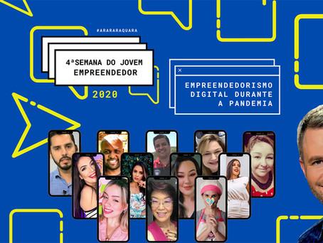 Em formato digital, Semana do Jovem Empreendedor tem recorde de participações