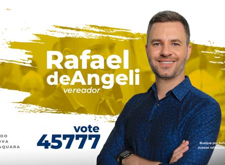Rafael de Angeli lança seus pilares de propostas para o próximo mandato