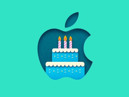 Hoje comemoramos o 45º aniversário de fundação da Apple