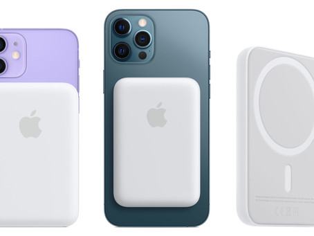 Apple lança Bateria MagSafe para a linha iPhone 12 e 'ativa' a recarga reversa/bilateral sem fio