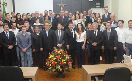Empresário Luiz Antônio Loureiro é o mais novo Cidadão Araraquarense