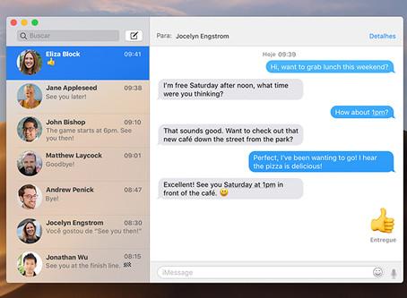 Rumor: Apple substituirá aplicativo Mensagens no Mac pelo app do iOS 14, versão Catalyst