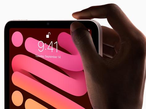 iPad mini de sexta geração redesenhado é lançado com Touch ID, porta USB-C, 5G e mais
