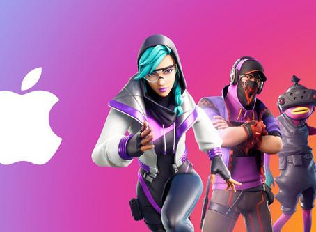 Apple encerrará contas de desenvolvedor da Epic Games em 28 de agosto