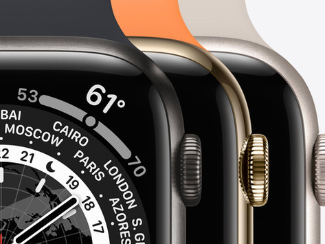 Pré-venda do Apple Watch Series 7 poderá começar no dia 8/10 e vendas em 15/10