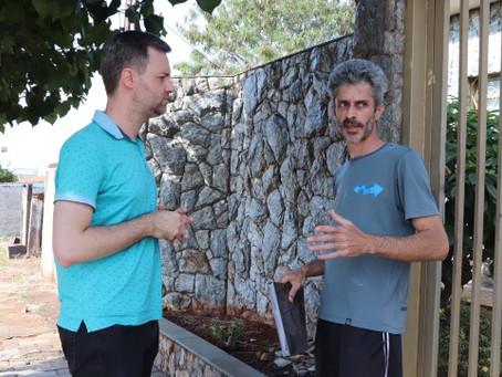 Morador pede soluções para problemas do Jardim Eliana