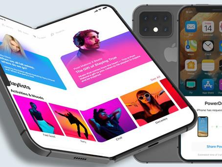 Kuo: Apple pode lançar um iPhone dobrável com tela entre 7,5 e 8 polegadas em 2023