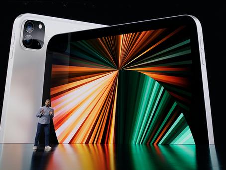 Apple lança novo iPad Pro com chip M1, Thunderbolt, 5G, tela XDR e muito mais