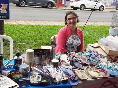 Empreendedorismo feminino é destaque em feira no Parque Infantil