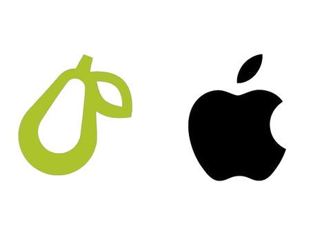 Apple toma ação legal contra pequena empresa com logotipo de uma pera