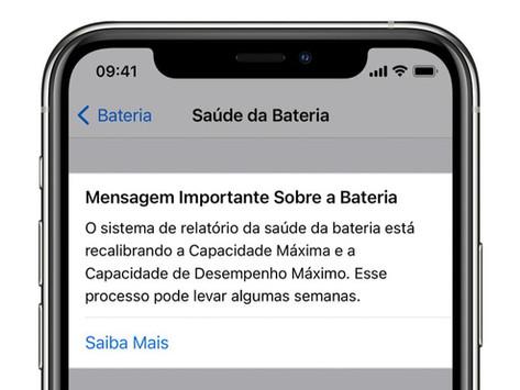 iOS 14.5 corrigirá bug para recalibrar saúde da bateria da linha iPhone 11