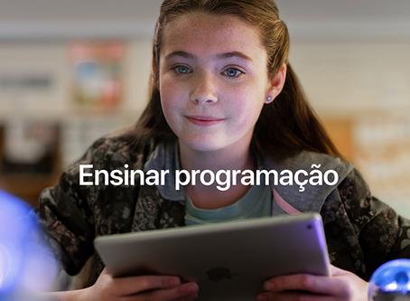 Apple divulga vídeos com histórias de professores que ensinam programação