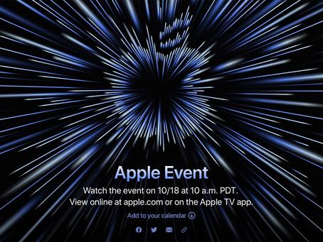 Evento especial 'Unleashed', com foco em novos Macs, acontecerá em 18 de outubro