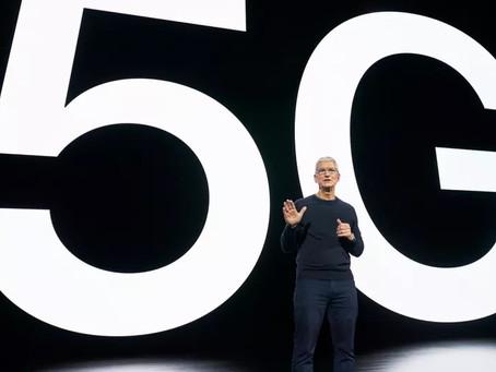 Velocidades 5G da linha iPhone 12 ficam atrás dos rivais Androids