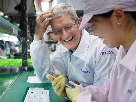 Montadora do iPhone diz que escassez de chips pode se estender até o segundo trimestre de 2022