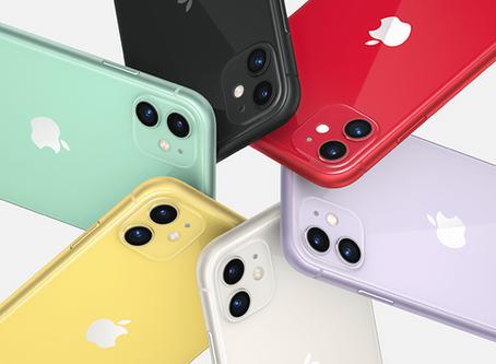 iPhone 11 foi o smartphone mais vendido do mundo no primeiro trimestre de 2020