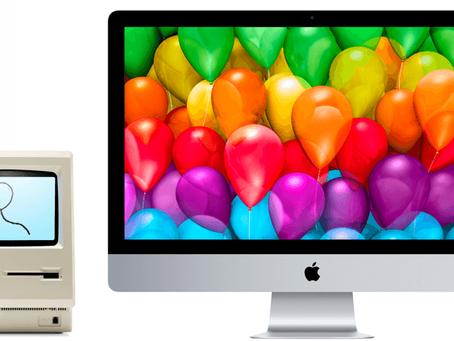 Feliz aniversário, Apple, pelos seus 44 anos!