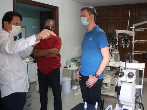 Emenda Parlamentar pode ampliar e fortalecer serviços do Hospital de Olhos