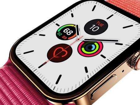 Bloomberg: Apple Watch Series 7 terá bordas mais finas, banda ultralarga atualizada e mais