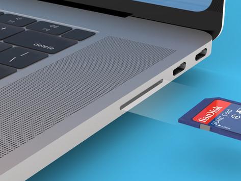 Novos modelos de MacBook Pro com porta HDMI e leitor de cartão SD serão lançados ainda em 2021