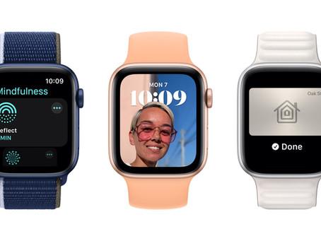 watchOS8 traz novos recursos de acesso, conectividade e atenção plena ao AppleWatch