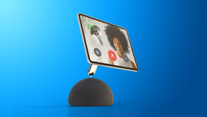 Futuro HomePod pode ter iPad conectado por braço robótico para rastrear usuários durante chamadas
