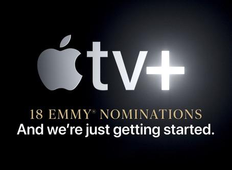 Site da Apple destaca e promove seu serviço de streaming de vídeos Apple TV+