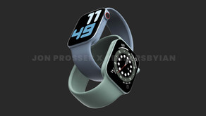 Prosser: Apple Watch Series 7 apresentará design de borda plana e nova cor verde