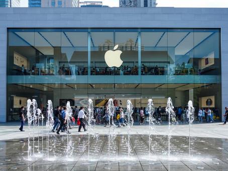 Apple Stores descartam exigência de máscaras para clientes vacinados
