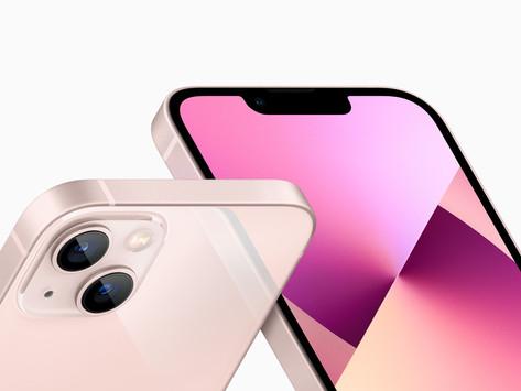 iPhones 13 e 13 mini são lançados com notch menor, câmeras traseiras reposicionadas e muito mais