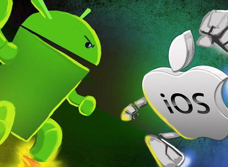 iOS 13 está rodando em 92% dos iPhones, enquanto o Android 10 em míseros 8,2% de smartphones