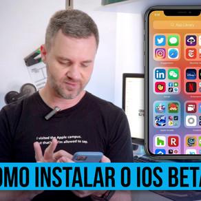 Vídeo: como instalar uma versão beta do iOS/iPadOS no iPhone ou iPad (tutorial)