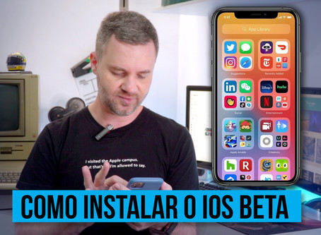 Vídeo: como instalar uma versão beta do iOS/iPadOS no iPhone ou iPad (tutorial)