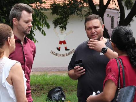 Vereador Rafael de Angeli articula melhorias no CER do Parque Infantil
