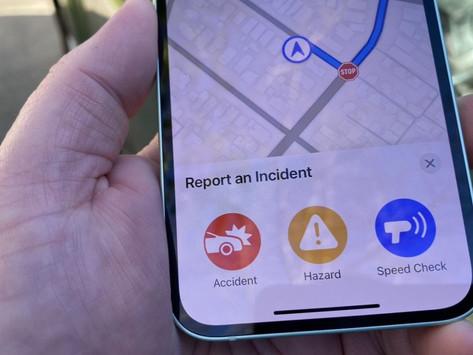 Apple Maps terá recursos semelhantes ao Waze para radares, acidentes e outros perigos na estrada