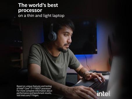 Propaganda da Intel sobre 'o melhor processador do mundo' apresenta um MacBook Pro